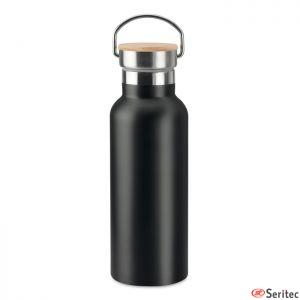 Botella publicitaria doble pared de 500 ml