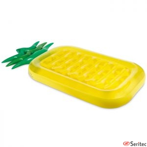 Colchoneta inflable de piña personalizada