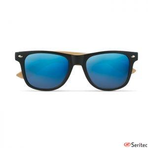 Gafas de sol bambú personalizadas