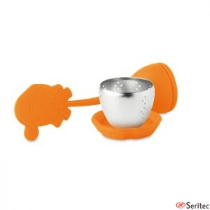 Filtro de té de silicona publicitario