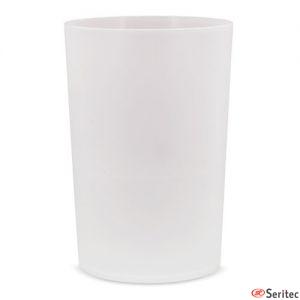 Vaso personalizable resistente libre de BPA con capacidad de 430 cc
