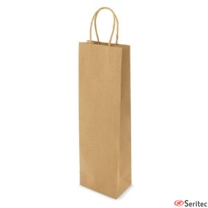 Bolsa alta de papel reciclado personalizada
