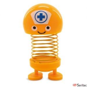 Muñeco oscilante enfermero publicitario
