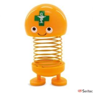 Muñeco oscilante farmacia publicitario
