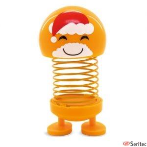 Muñeco oscilante Papá Noel publicitario