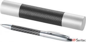 Bolígrafo metálico con estuche promocional