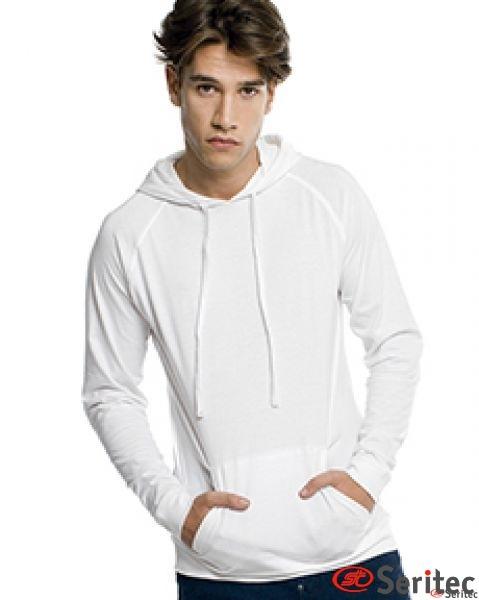 Camiseta manga larga hombre personalizable