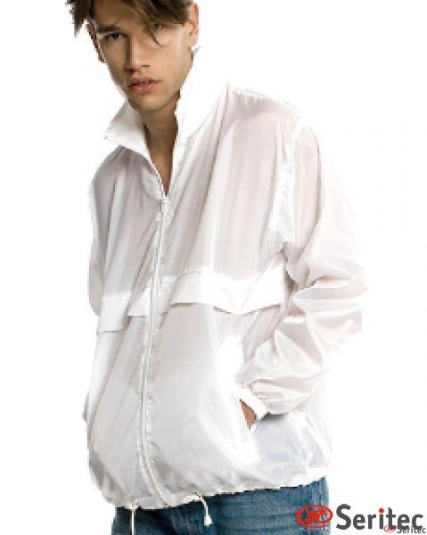 Chubasquero hombre personalizable plegable en bolsa