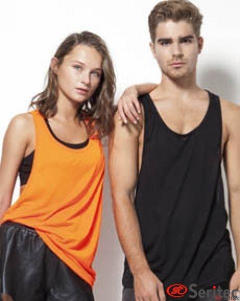 Camiseta tirantes unisex personalizable unisex
