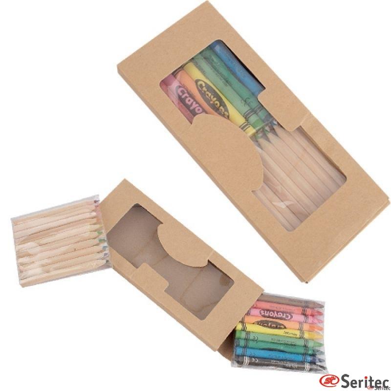 Set 10 Lapices Color + Cera