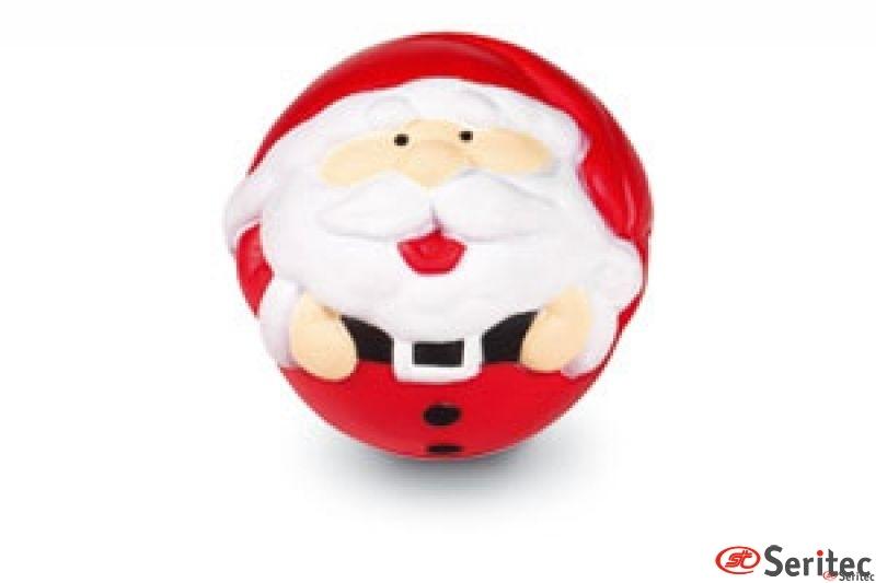 Pelota antiestrés Papá Noel