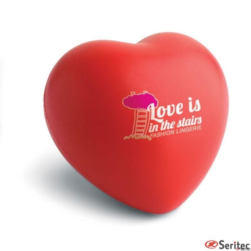 Antiestrés forma corazón Lovy