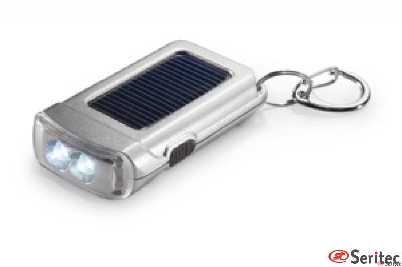 Llavero-linterna energía solar