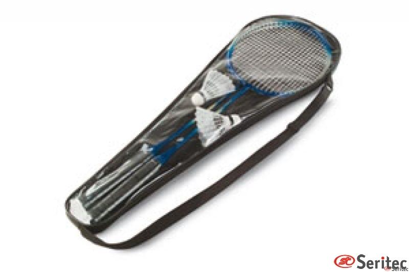 Juego de badminton.
