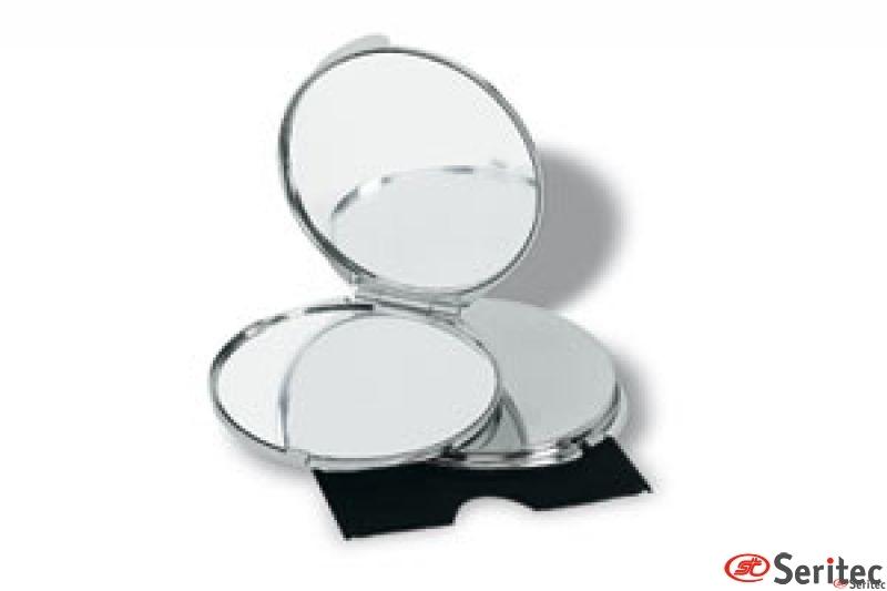 Espejo de lujo cromado