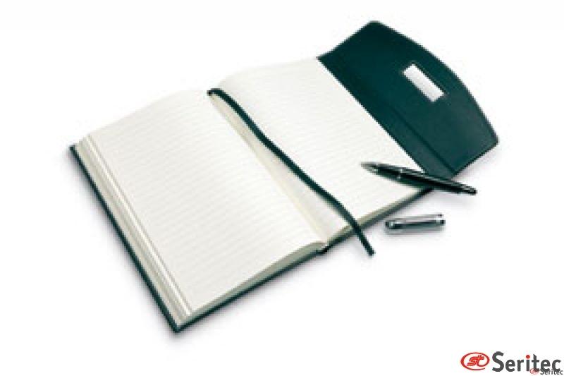 Portafolios con bolígrafo