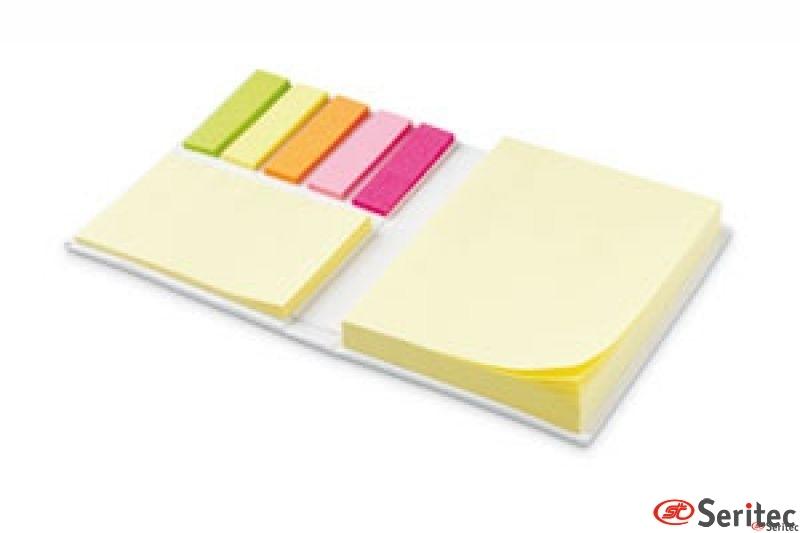 Set con bloc de notas