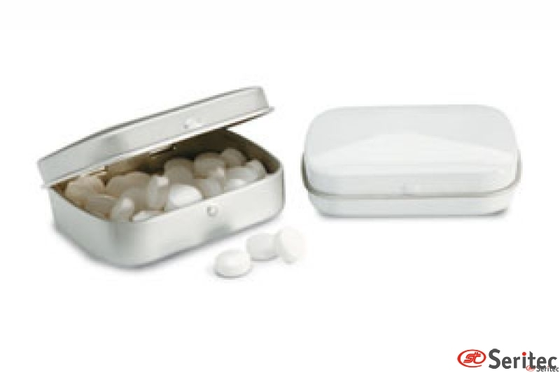 28 gramos de caramelos de menta
