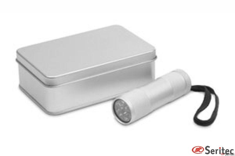 Linterna LED en caja de regalo