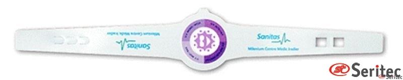 Pulsera con medidor rayos uva personalizado