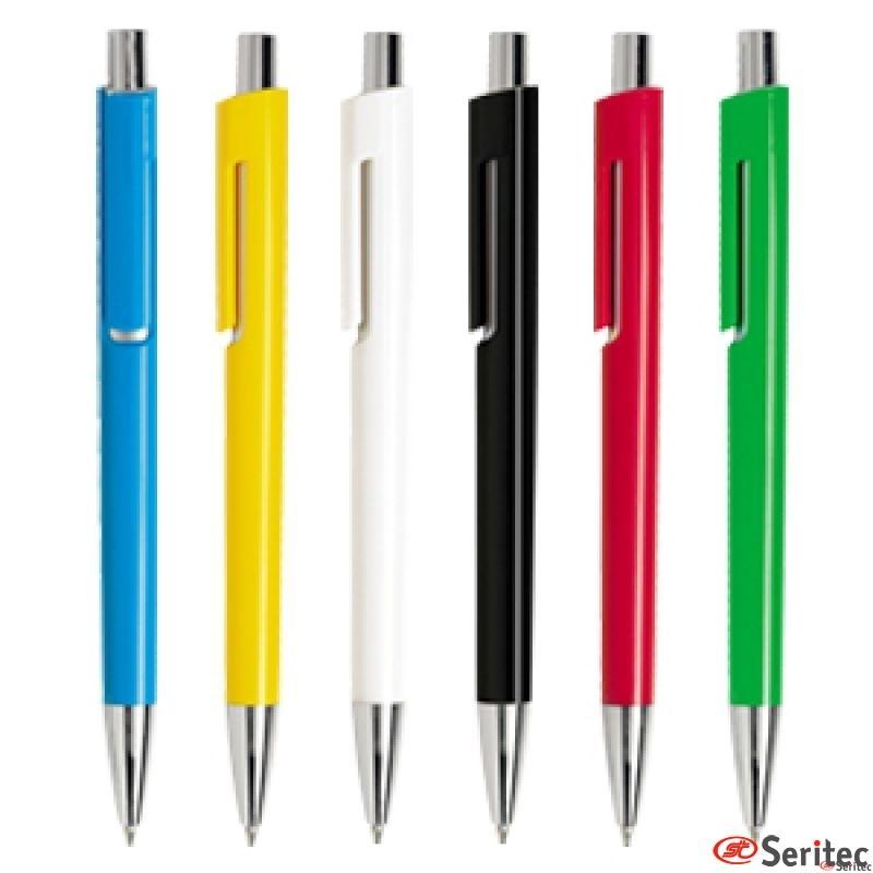 Bolígrafos serigrafiados promocionales de diseño compacto y funcional