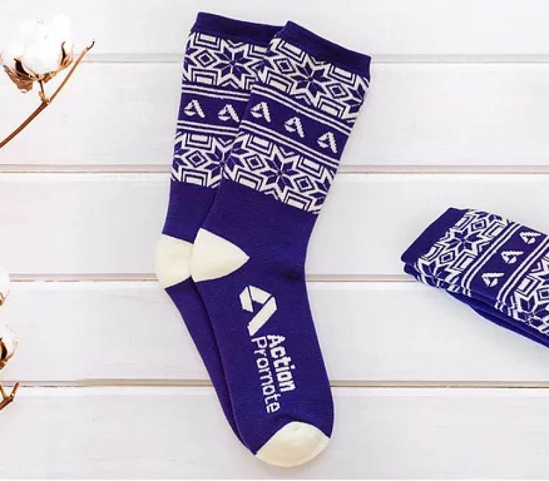 Calcetines publicitarios personalizados
