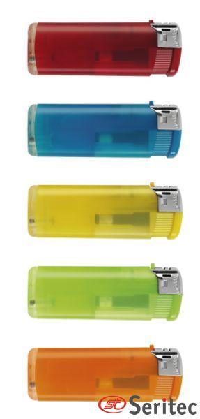 Mecheros de colores llamativos para publicidad