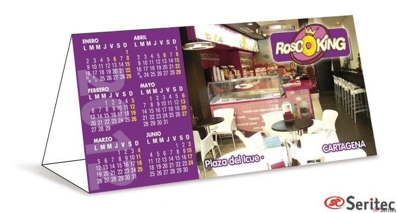 Almanaque. Calendario de Sobremesa Grande
