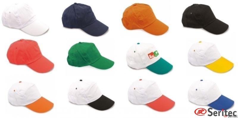 Gorras Promocionales baratas personalizadas