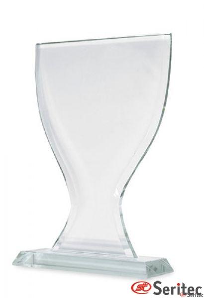 trofeo-Vidrio Forma Copa Personalizado