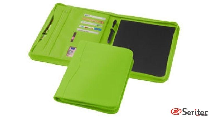 Portafolios compartimetos con exterior polipiel de colores
