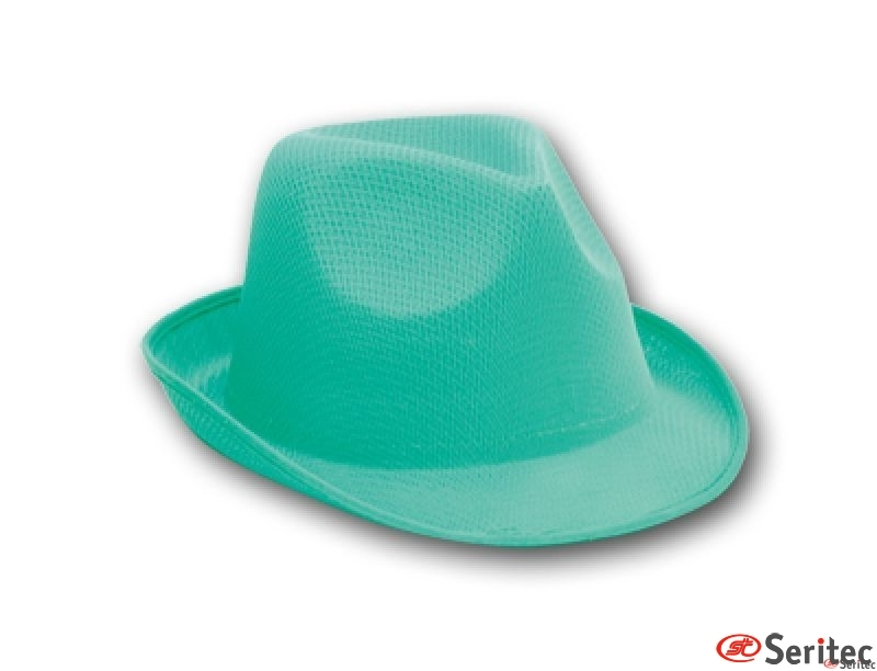 Sombrero tipo paja - no woven publicitario