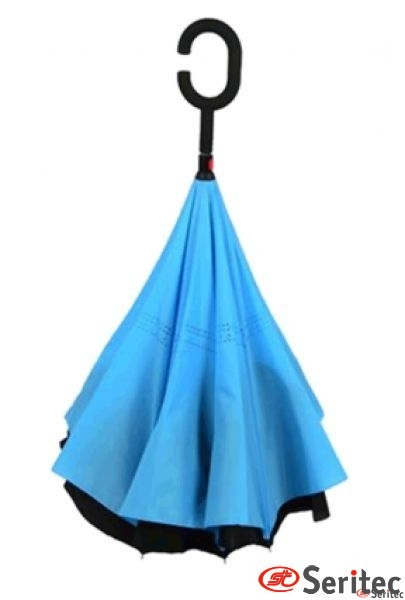 Paraguas reversible original publicitario