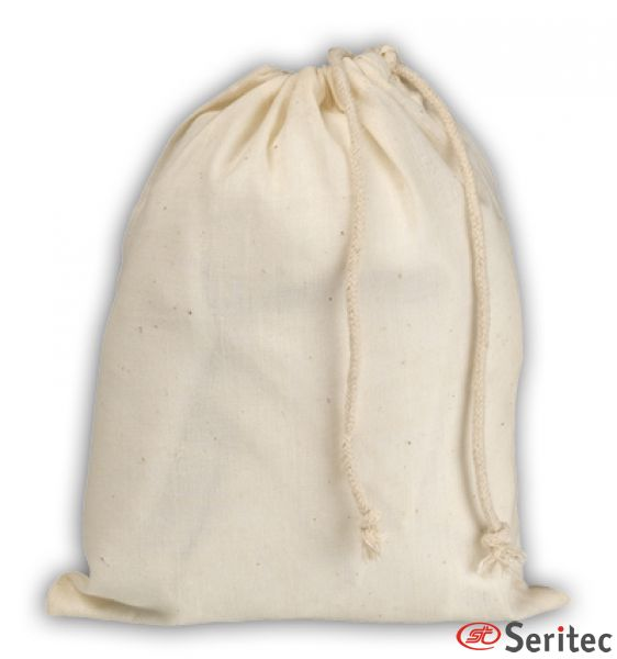 Saco de algodón publicitario