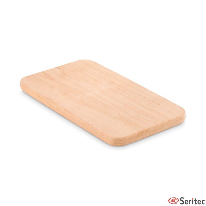 Tabla de cortar peque a de madera publicitaria - Tablas de planchar pequenas ...