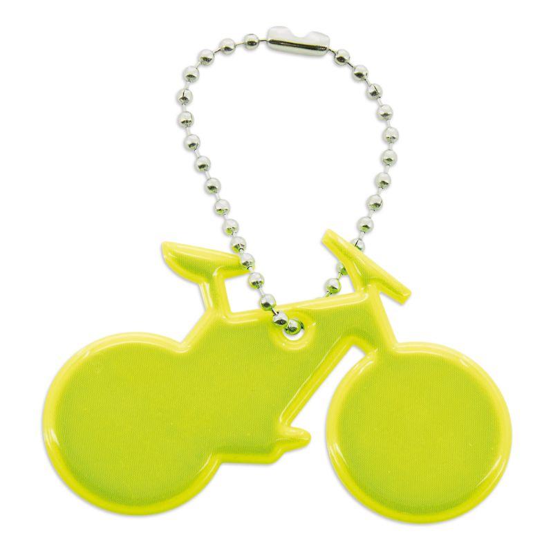 Llavero reflectante para bicicleta