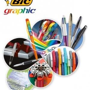 Catálogo Bolígrafos y Lápices marca Bic