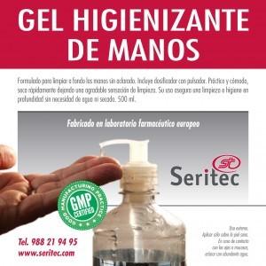 Gel higienizante manos hidroalcohol