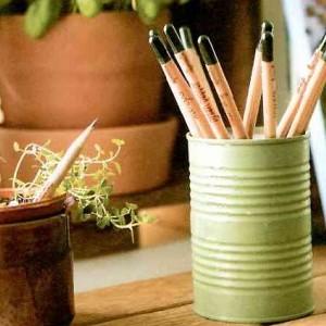 Lápiz publicitario con semilla para plantar
