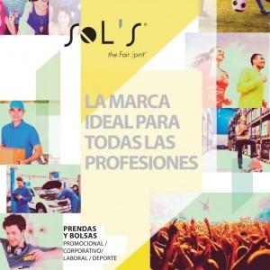 Catálogo textil Sols publicitario 2017